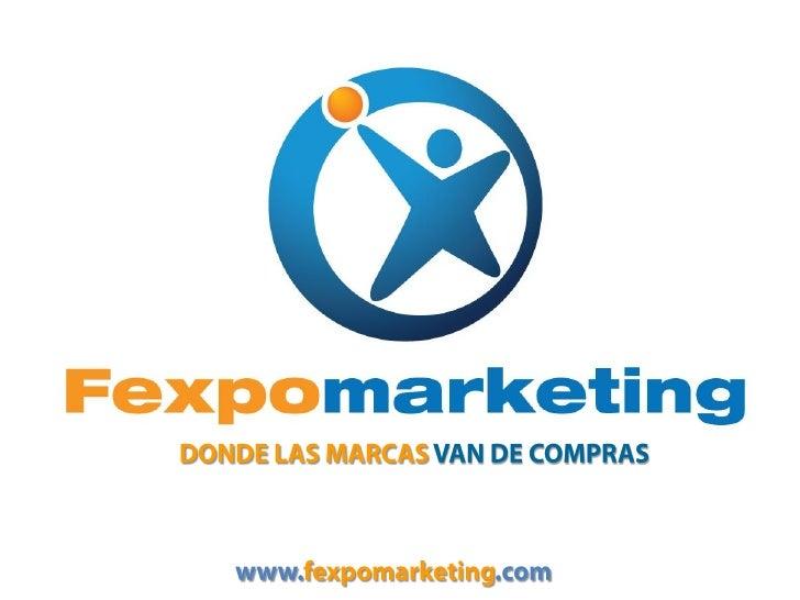 Presentación Fexpomarketing Septiembre