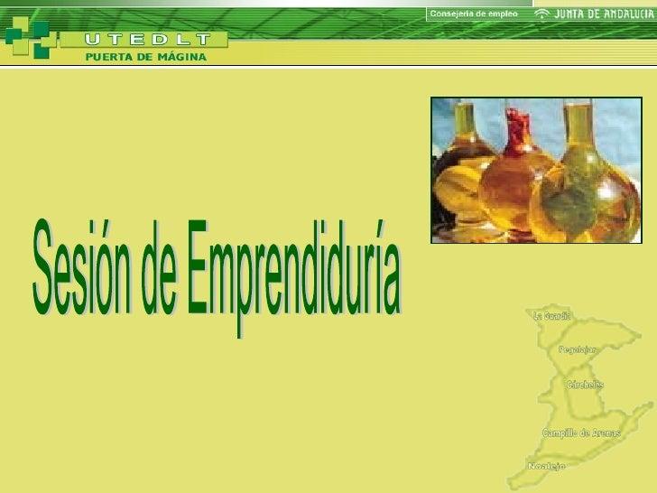 Utedlt Campillo De Arenas. Emprendiduría