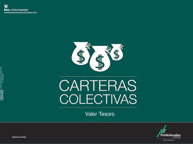 SUPERINTENDENCIA FINANCIERA               VIGILADO           DE COLOMBIAValor Tesoro
