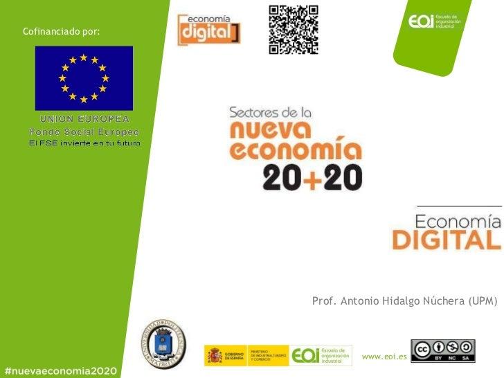 Cofinanciado por: Prof. Antonio Hidalgo Núchera (UPM)