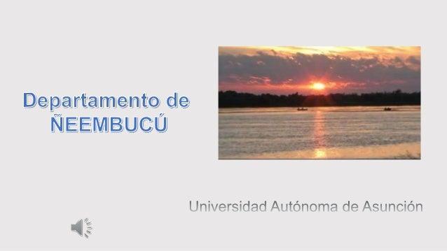 Menú  Presentación del Departamento (Ubicación, Límites, División Política)  Actividades resaltantes  Sitios turísticos...