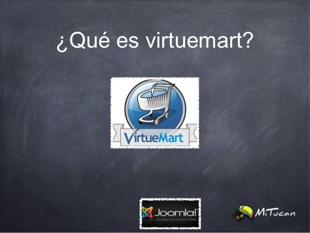 ¿Qué es virtuemart?