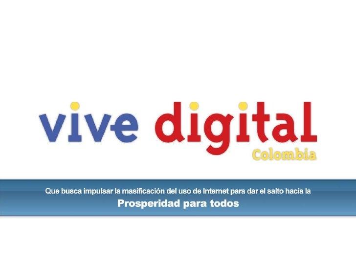 Presentación vive digital versión iab colombia