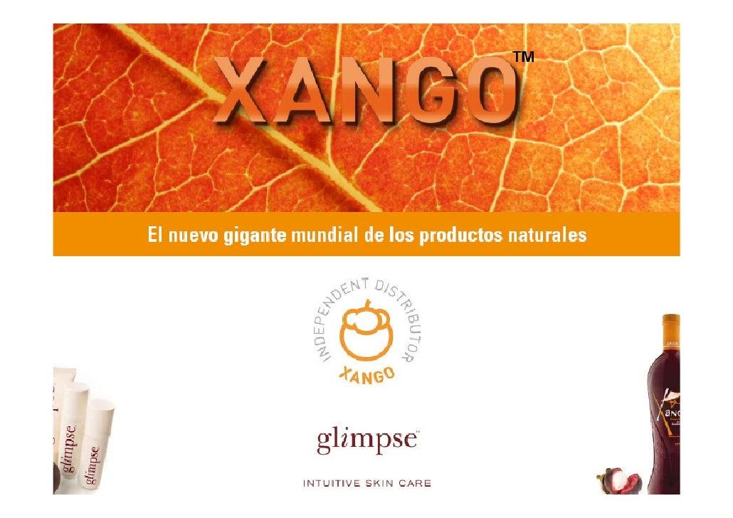 Presentación Zumo de Mangostán Xango