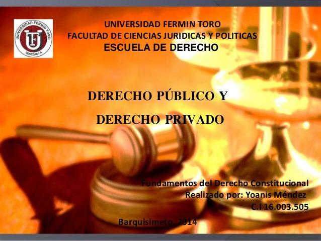 escuela derecho publico: