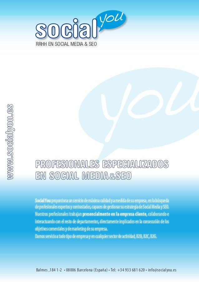 Presentación y Servicios social you