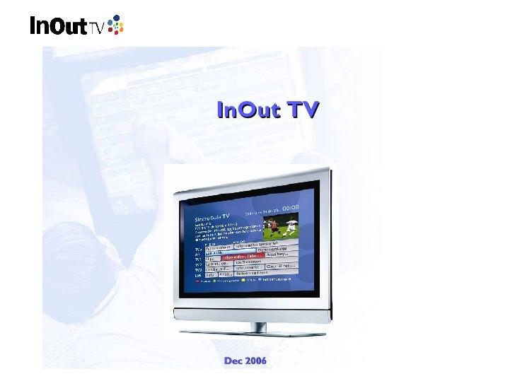 Presentacio In Out Tv
