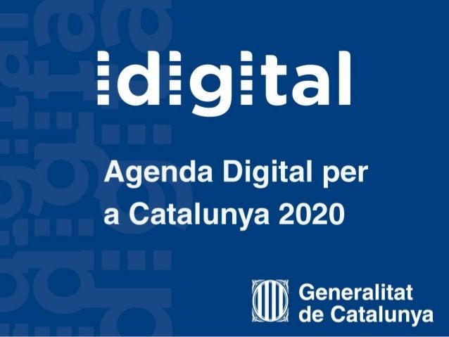 Presentacio agenda digital catalunya 2020