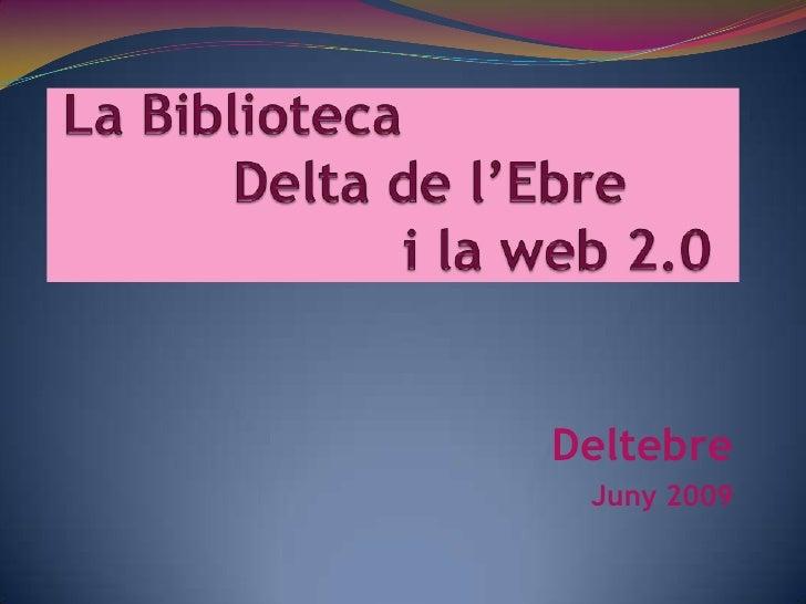 La biblioteca a la web 2.0