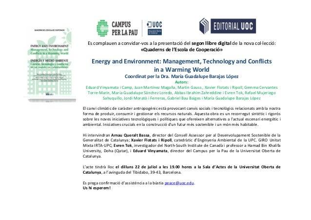 Book Presentation - UOC - Barcelona