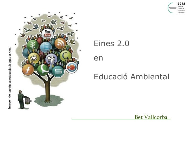 Presentacio eines 2.0 en educació ambiental
