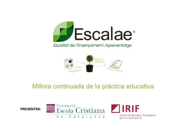 Presentacio Escalae fecc 2011