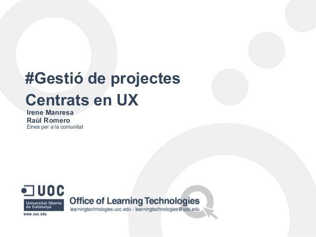 Presentació Jornada Técnica #uoc-sprint