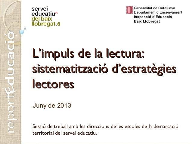 Presentacio lectura 12062013