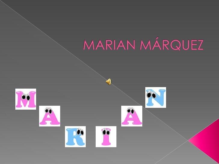 Presentació Marian Montse