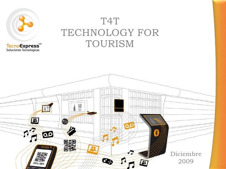 T4T - Technology for Tourism - Partido de La Costa