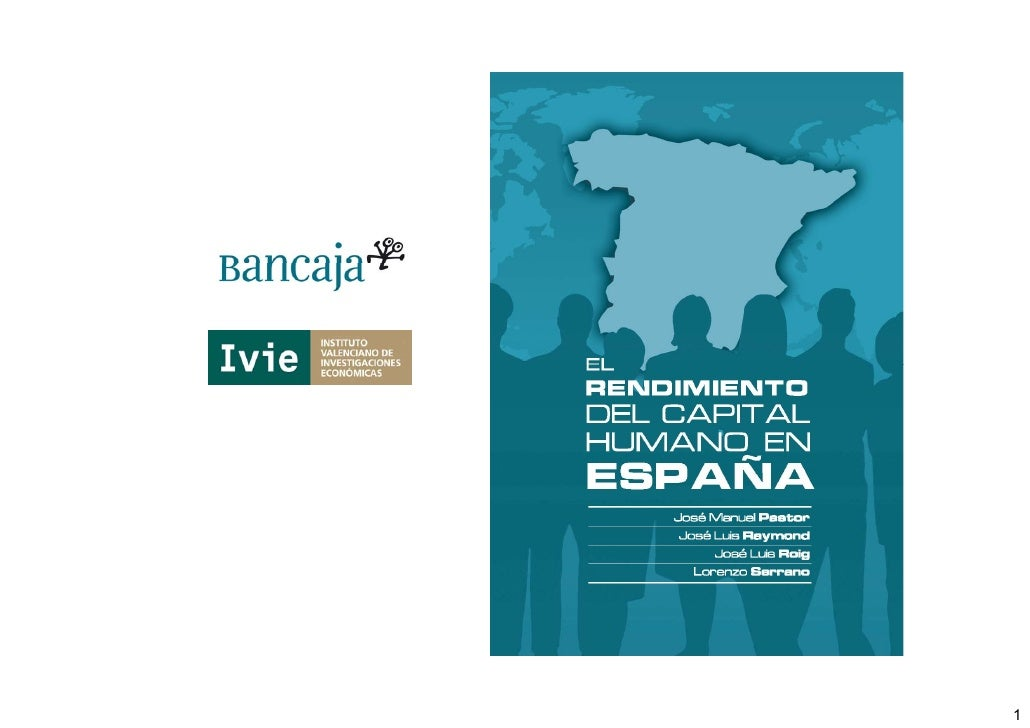 El rendimiento del capital humano en España