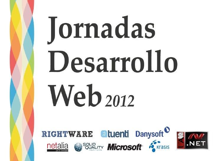 """Los lenguajes    de la web"";   Roberto Luis Bisbé - @rlbisbe"