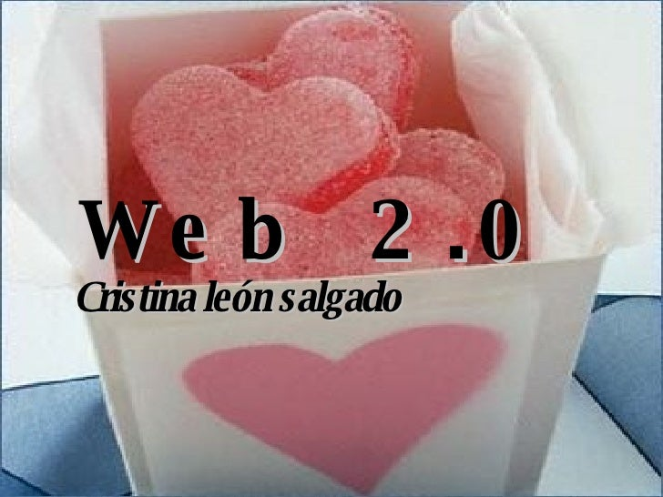 Web  2.0 Cristina león salgado