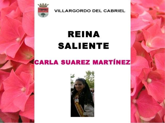 CARLA SUAREZ MARTÍNEZ REINA SALIENTE