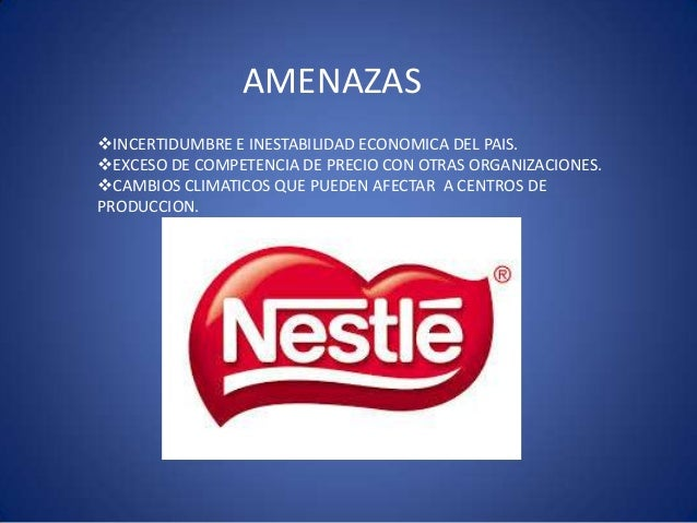 nestle environmental scan Unit 4 : marketing strategy assignment  it is necessary to scan and find out the environment in which the plan has  the macro environmental factors for nestle are.
