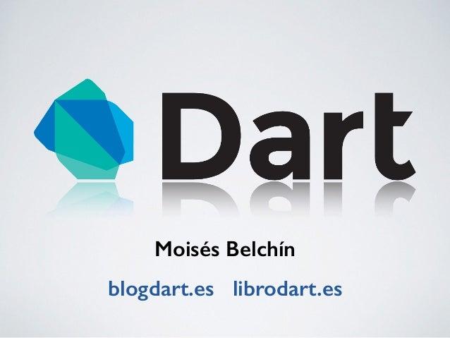 Moisés Belchín blogdart.es librodart.es