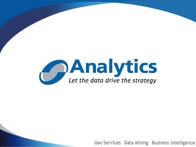 Nosotros somos  Analytics