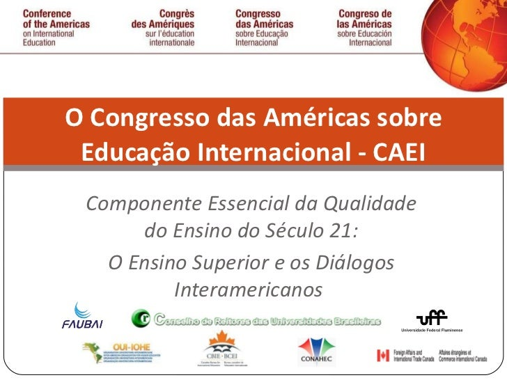 Apresentaçao CAEI, Brasil 2012