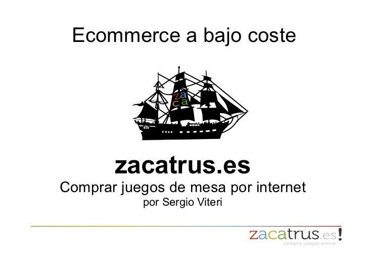 Presentacion Zacatrus en camerpyme