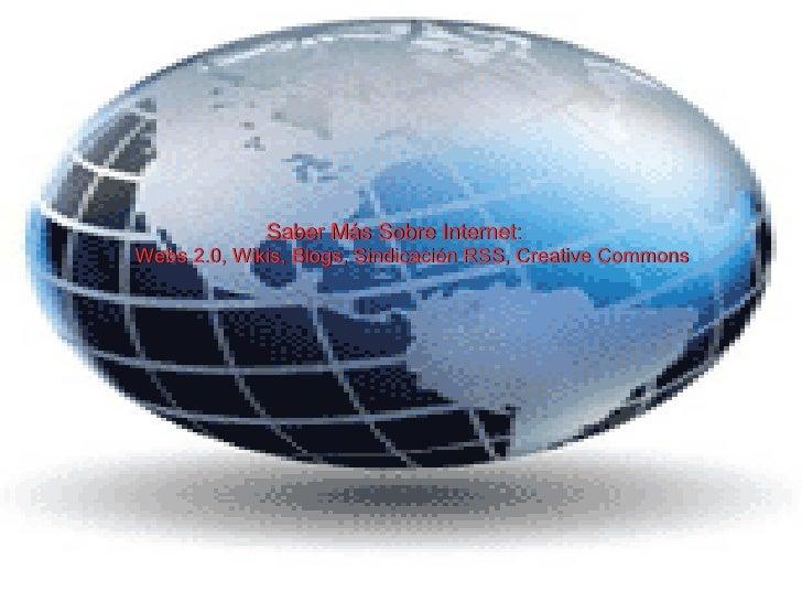 Presentacion Credito Variable (web 2.0, wiki, blog, sindicación, RSS, y creative commons