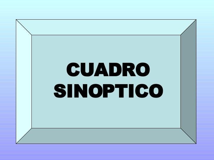 Presentacion Cuadros Sinopticos