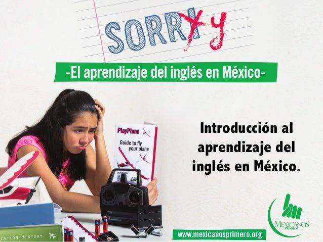 Introducción al aprendizaje del inglés en México.