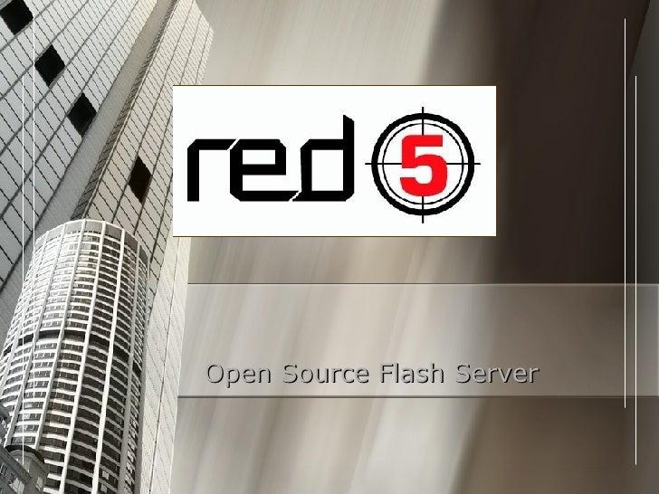 Open Source Flash Server