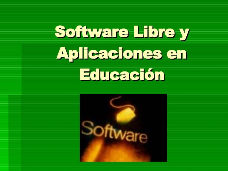 Presentacion De Software