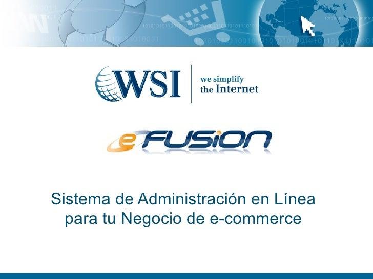 Sistema de Administración en Línea para tu Negocio de e-commerce