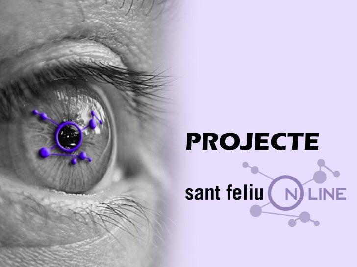 """Presentació \""""Sant Feliu, ciutat innovadora\"""" 2008"""