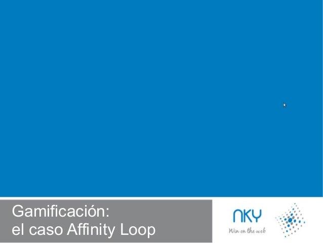 Presentation Gamification tool: Affinity Loop