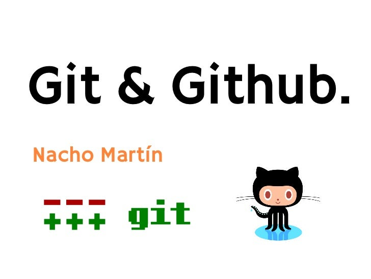 Git & Github.Nacho Martín