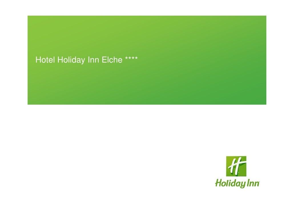 Hotel Holiday Inn Elche ****
