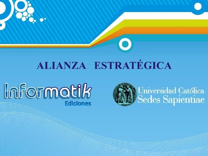 Presentacion Informatik 2009