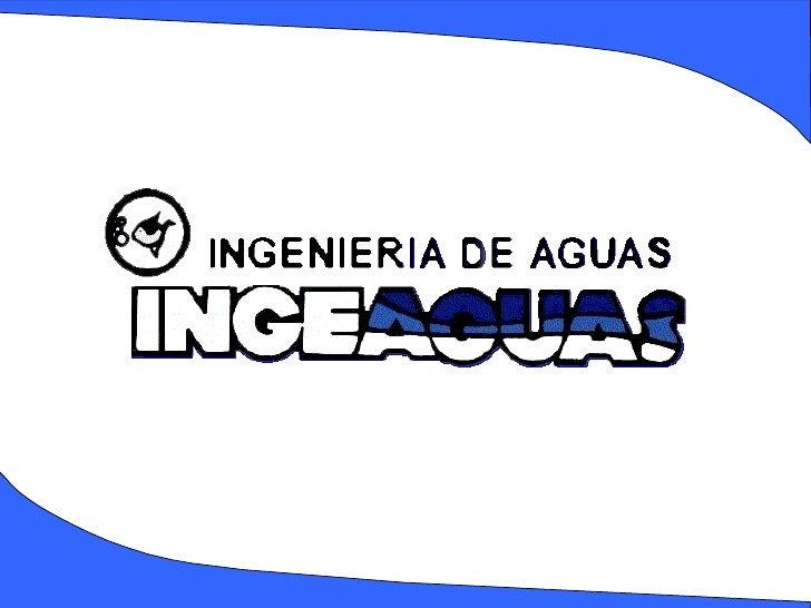 Presentacion Ingeaguas  Agua Residuales