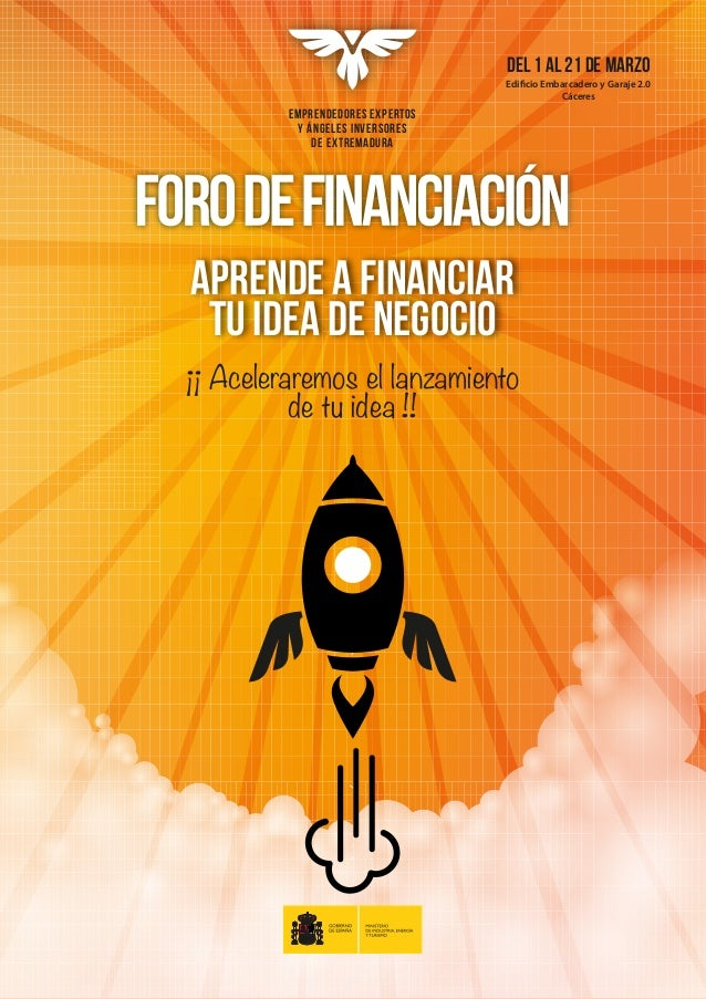 Presentación foro de financiación de emprendedores expertos y ángeles inversores de extremadura