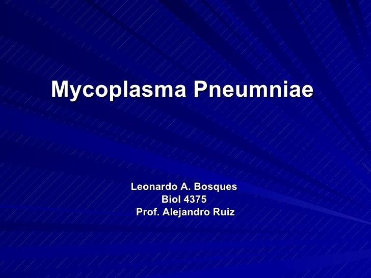 mycoplasma pneumoniae #11