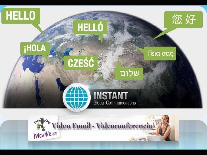 Como enviar video por email, productos iWowWe