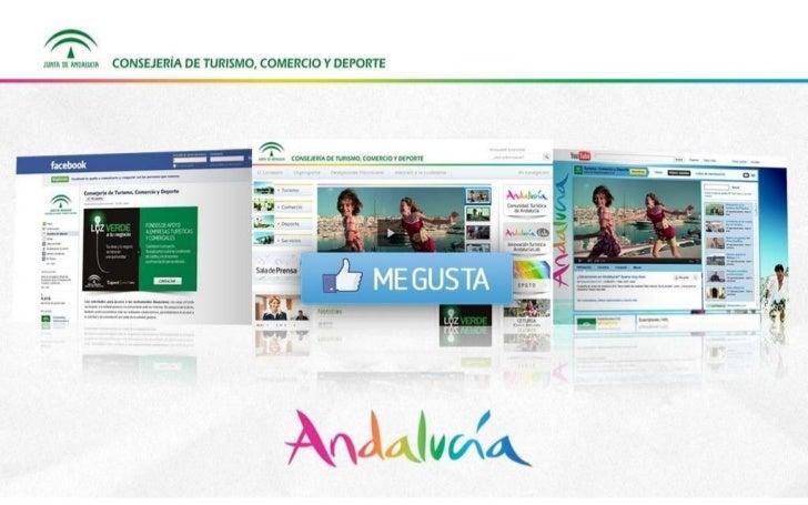 Nuevo portal web y evolución anual redes sociales de la Consejería de Turismo, Comercio y Deporte