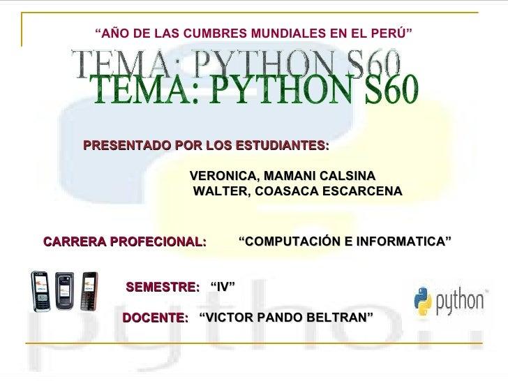 PPT python S60