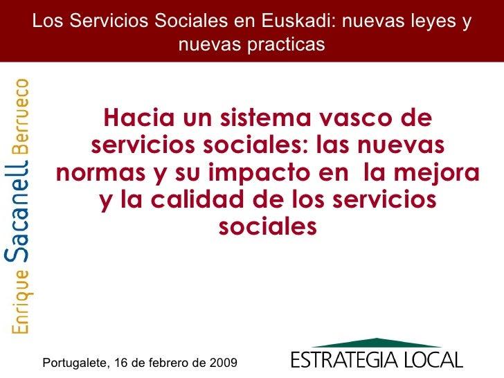 Presentacion Servicios Sociales Febr 2009