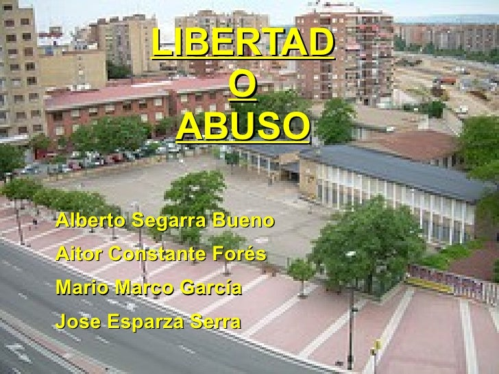 Libertad o Abuso (Software libre)