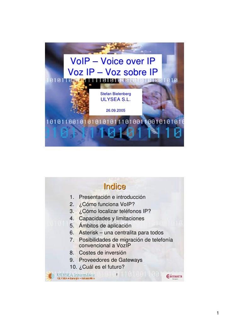 Presentacion voip