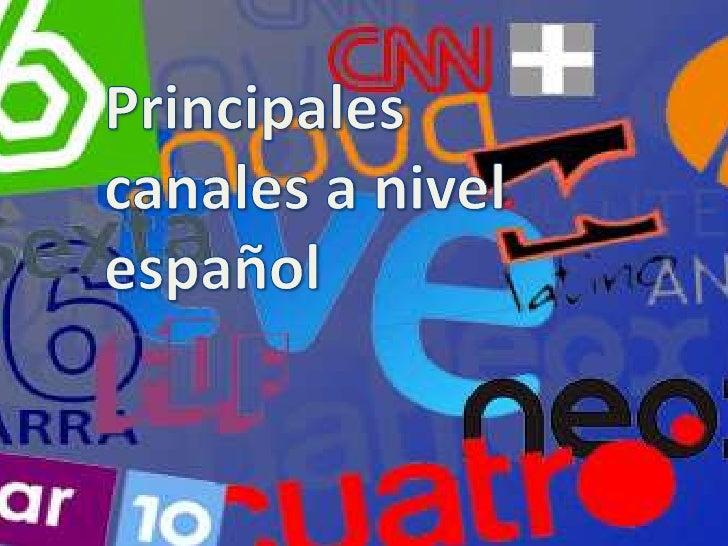 Canales deTV españoles